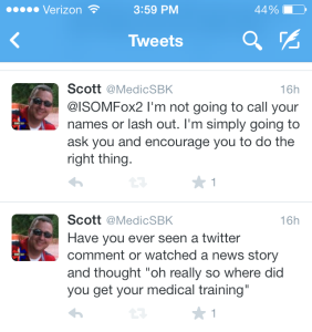 My Tweets about Fox 2's story
