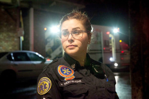 NOEMS Paramedic Holly Monteleone. She might be Ms. Paramedic's twin.