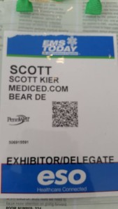 "A big ""thanks"" goes out to the folks at MedicED.com for providing me with a free registration this year."